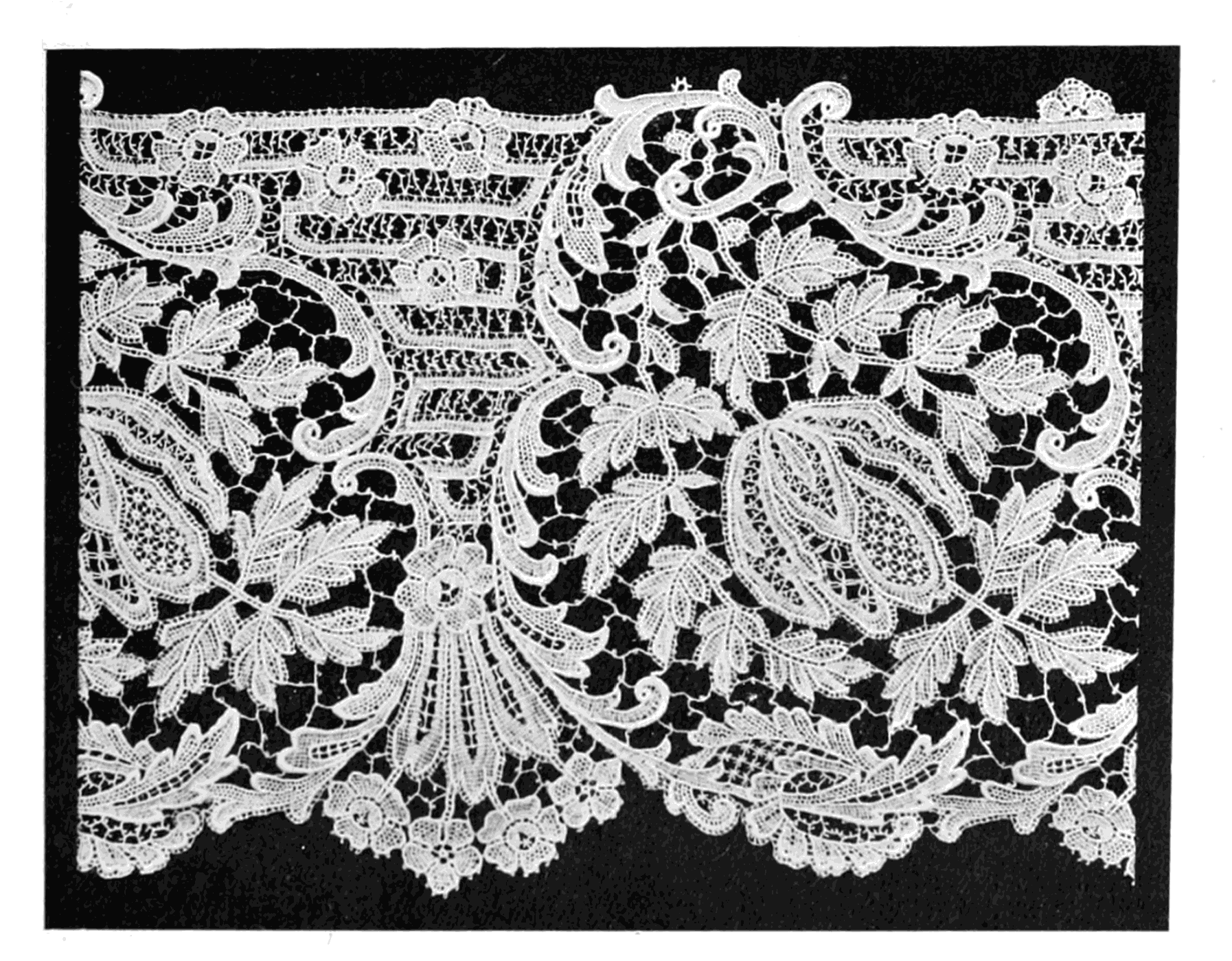 Lace its origin and history