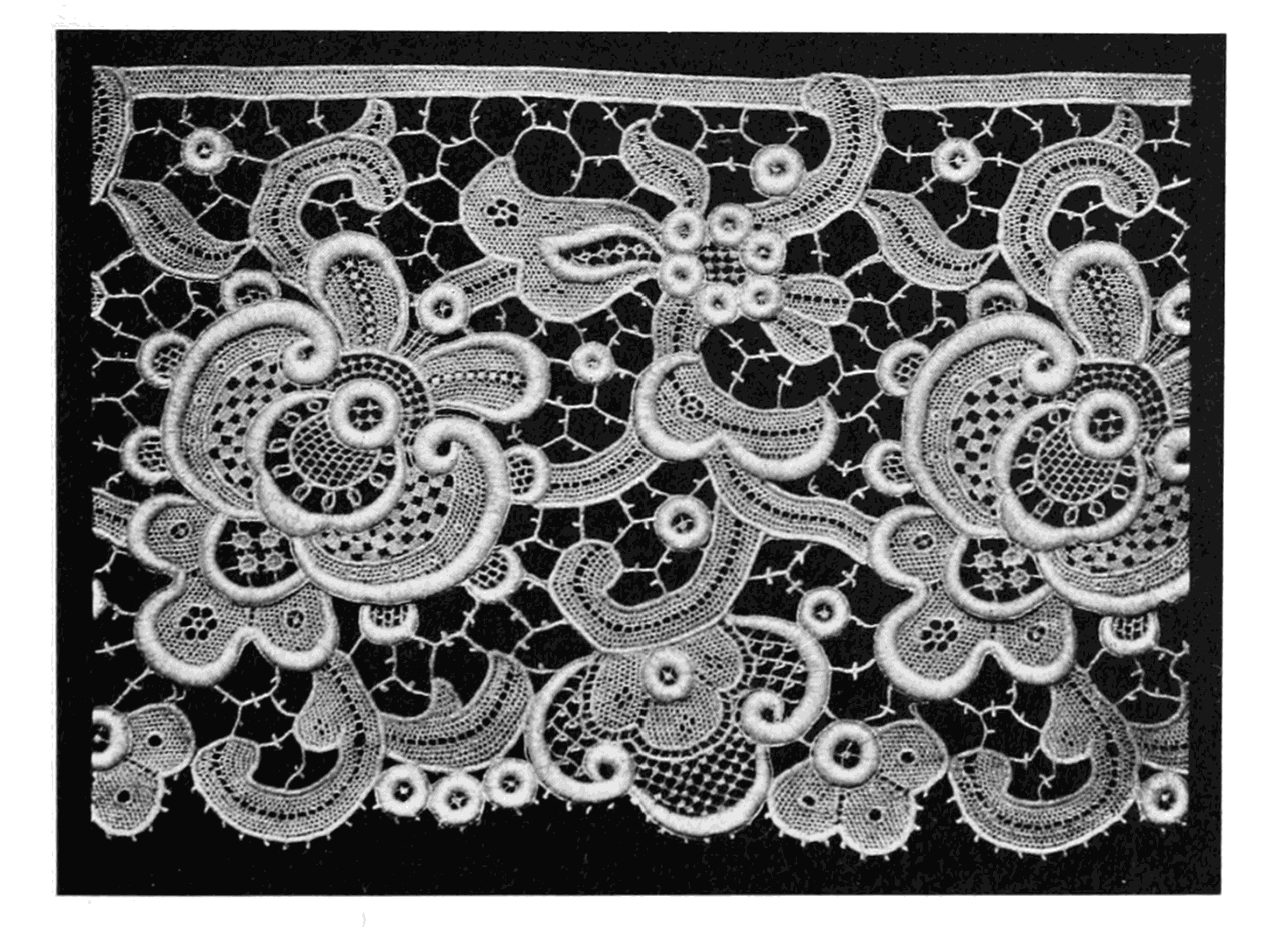 Lace: Its Origin and History.