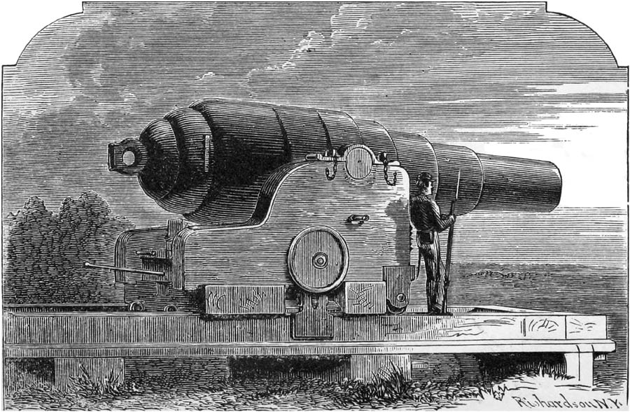 Armstrong Gun from Fort Fisher.