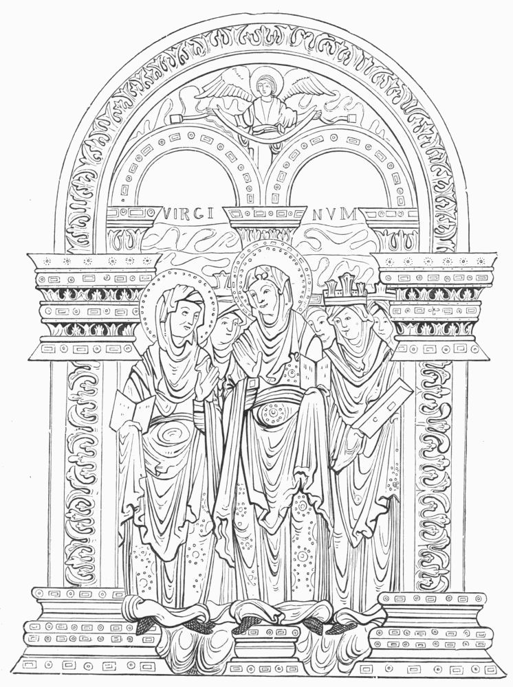 from st ethelwold s benedictional by godeman a monk of hyde abbey a d
