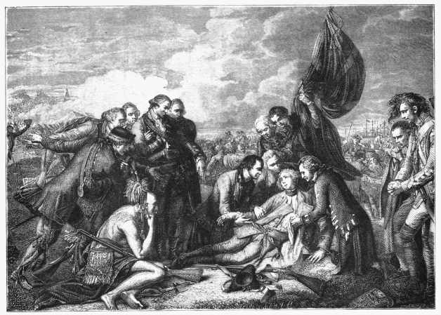 death of wolfe by west in the possession of the duke of westminster