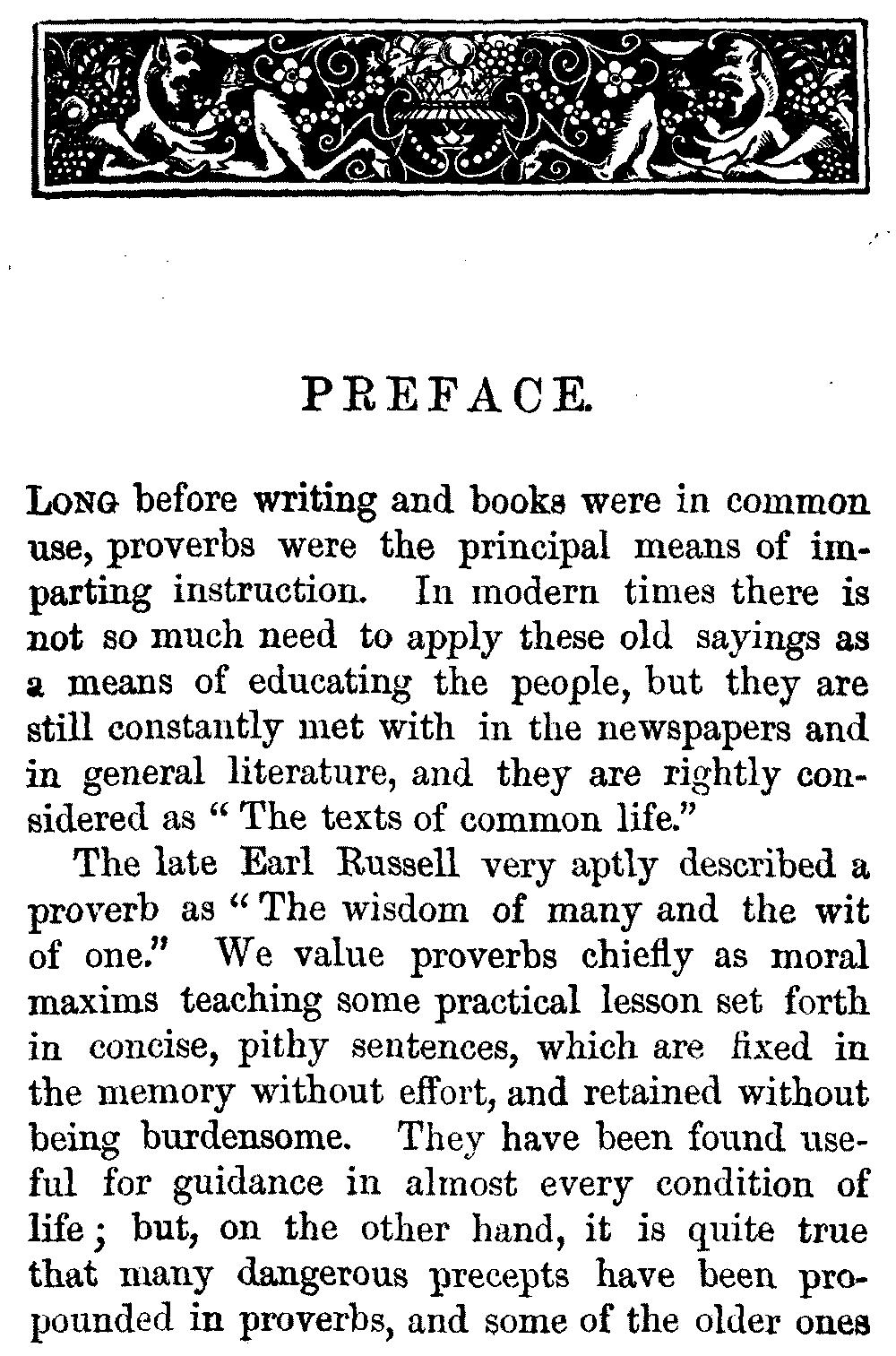 essays proverbs essays