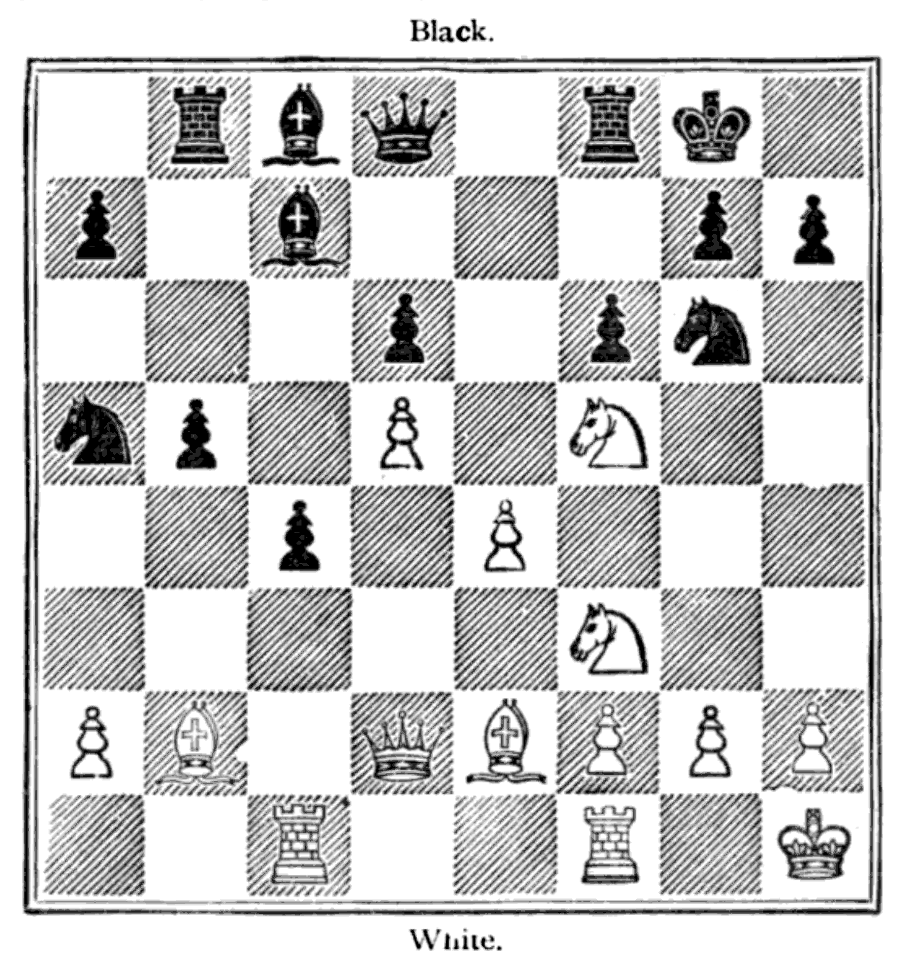 The Project Gutenberg Ebook Of Hoyles Games Modernized By Louis Move Checkmate Diagram Furthermore Chess Moves In Addition Event Hoffmann