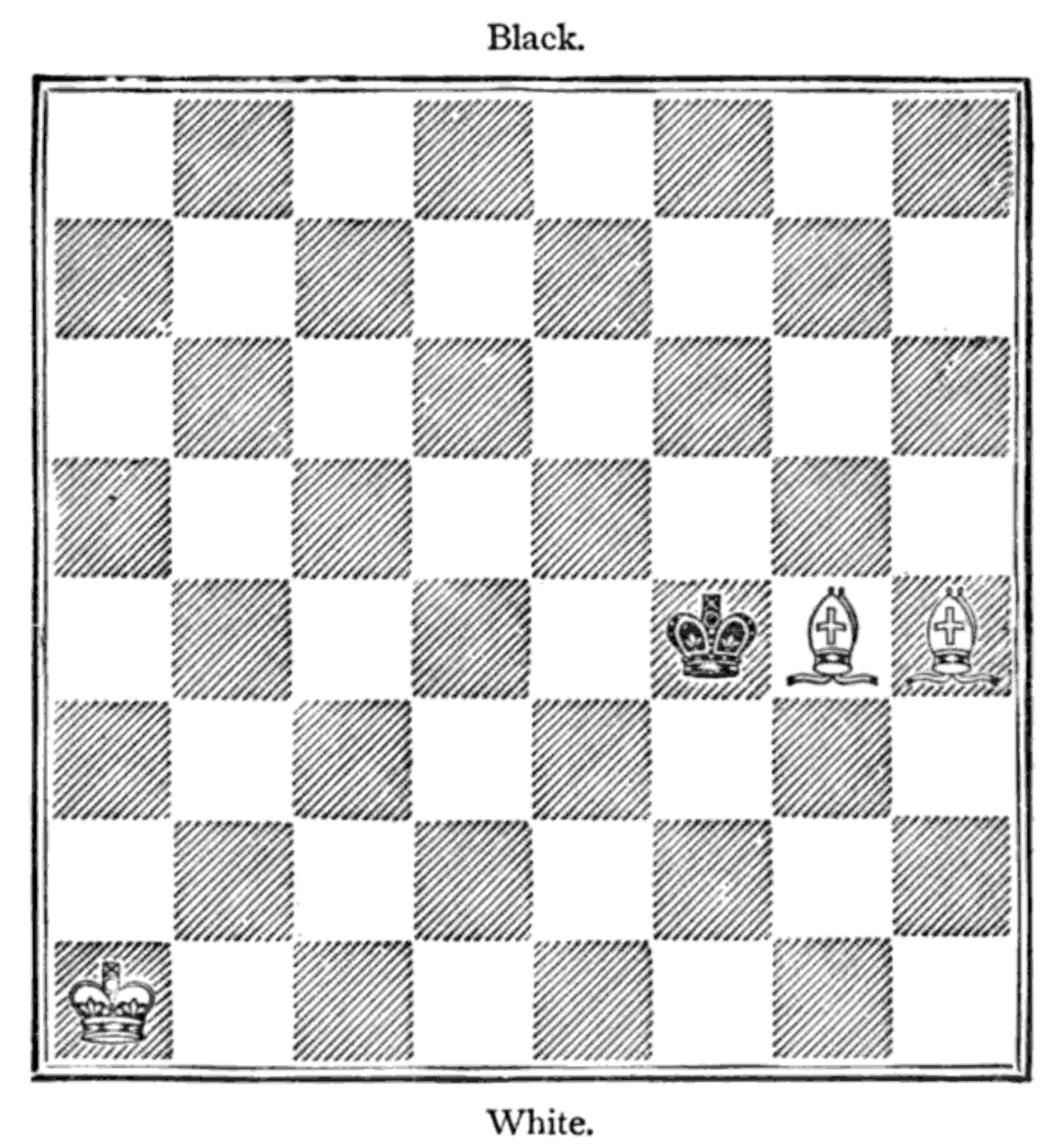 The Project Gutenberg Ebook Of Hoyles Games Modernized By Louis Four Move Checkmate Diagram Hoffmann