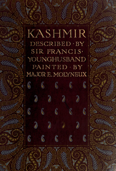 The project gutenberg ebook of kashmir by sir francis edward cover fandeluxe Choice Image