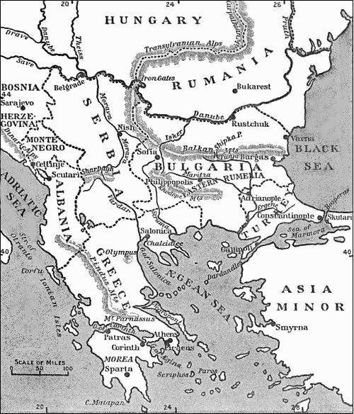 The Project Gutenberg eBook of The Balkan Peninsula, by ... on map of eurasia, map of albania, map of haiti, map of yugoslavia, map of spain, map of middle east, map of montenegro, map of ottoman empire, map of europe, map of caucasus, map of crete, map of ukraine, map of bulgaria, map of pyrenees, map of greece, map of arabian peninsula, map of croatia, map of iberian peninsula, map of moldova, map of baltics,