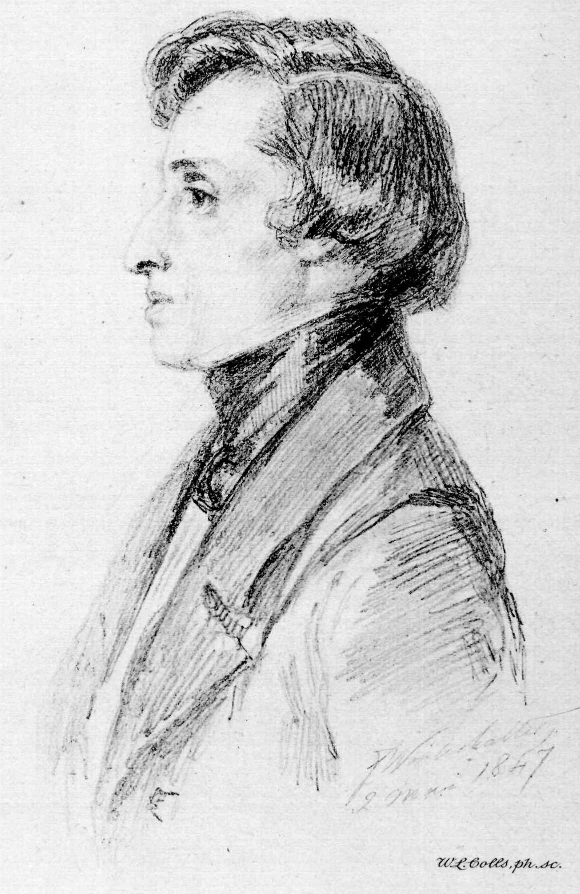 Frederick Chopin, From A Drawing By Winterhalter