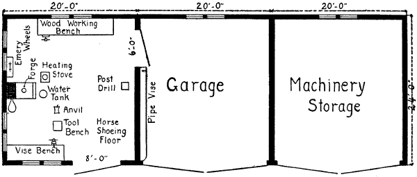 Awesome Shop With Living Quarters Floor Plans