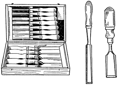 Chisel Tool Drawing images