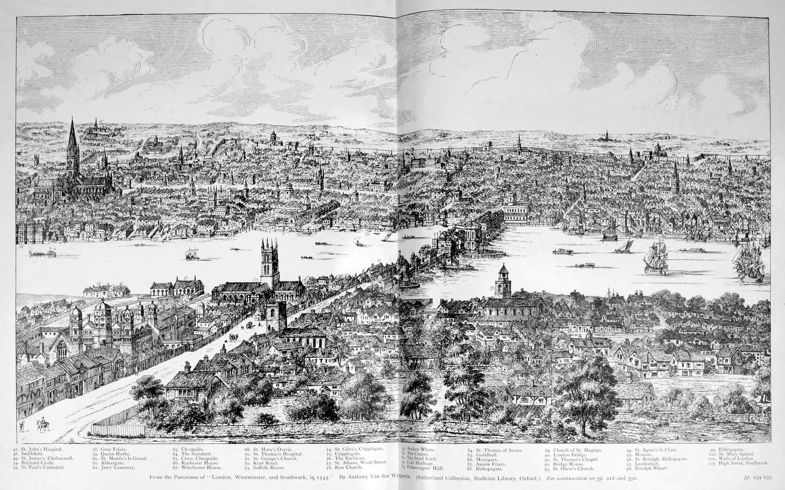 Map Of London 1600.Maps Of Old London