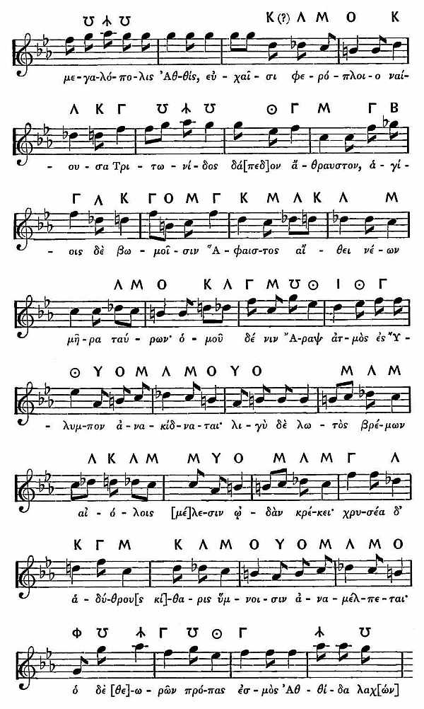 The Project Gutenberg eBook of The Modes of Ancient Greek