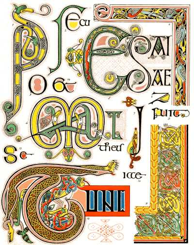 G Book Of Kells EXAMPLES FROM THE BOOK OF