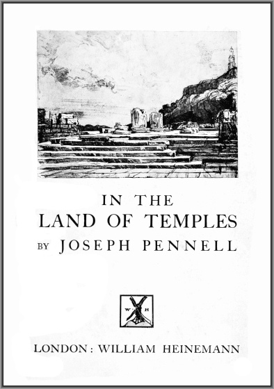 The project gutenberg ebook of in the land of temples by joseph image of the books cover fandeluxe Choice Image