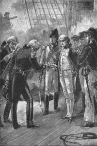 The project gutenberg ebook of fifty two stories of the british navy nelson receiving swords fandeluxe Gallery