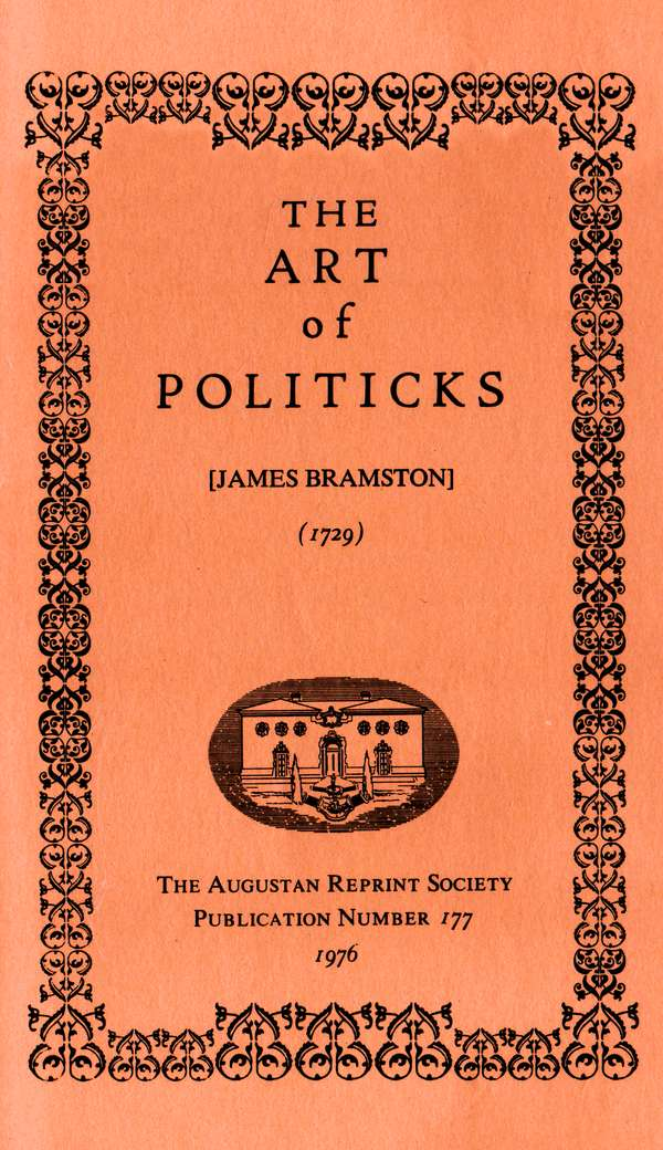 The project gutenberg ebook of the art of politicks by james bramston character set encoding iso 8859 1 start of this project gutenberg ebook the art of politicks produced by chris curnow paul marshall fandeluxe Gallery