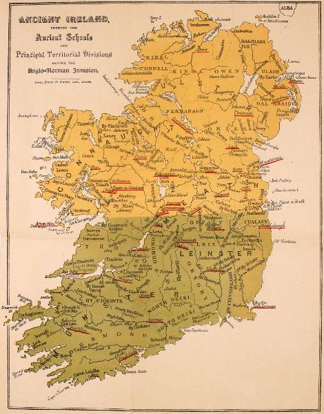 Insula sanctorum et doctorum or irelands ancient schools and ancient ireland shewing the ancient schools and principal territorial divisions before the anglo norman fandeluxe Images