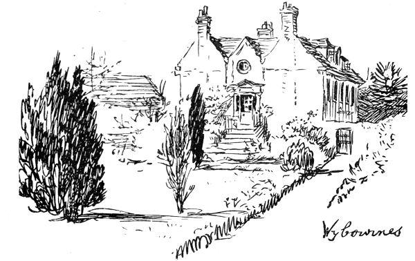 "Sketch of ""Wybournes,"" Kemsing, near Sevenoaks."