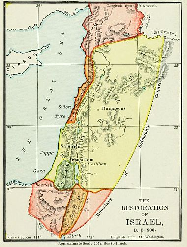 The Project Gutenberg EBook Of Bible Atlas By Rev Jesse L - Map of egypt before christ