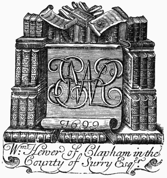 The Project Gutenberg Ebook Of Book Plates By W J Hardy F S A