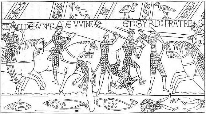 The Project Gutenberg Ebook Of The Chronicle Of The Norman Bayeux Tapestry Colouring Pages