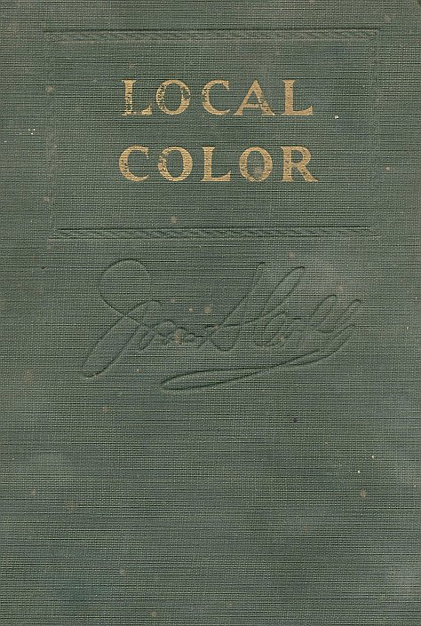 Local Color, by Irvin S. Cobb—A Project Gutenberg eBook