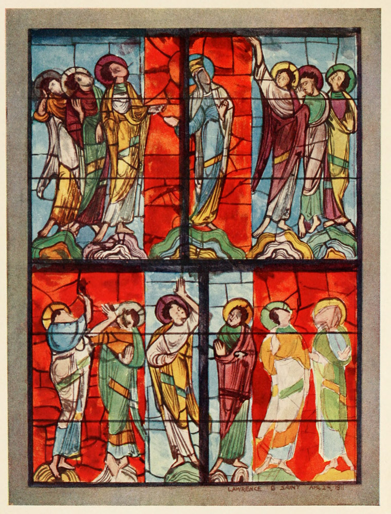 The Project Gutenberg Ebook Of Stained Glass Of The Middle Ages In