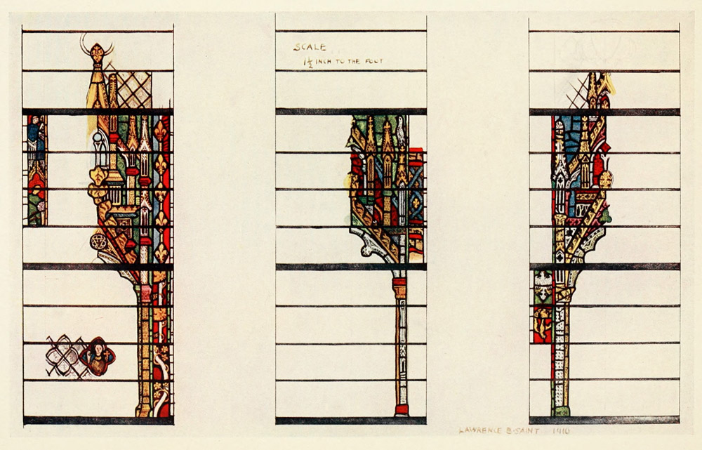 The Project Gutenberg eBook of Stained Glass of the Middle
