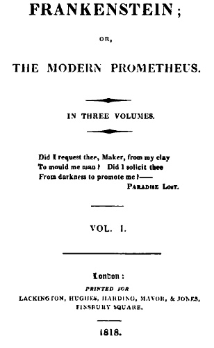 The Project Gutenberg Ebook Of Frankenstein By Mary Shelley