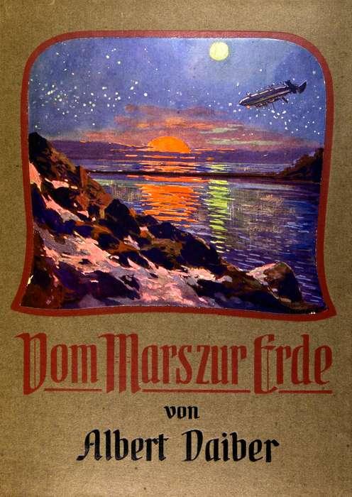The Project Gutenberg eBook of Vom Mars zur Erde, by Albert Daiber