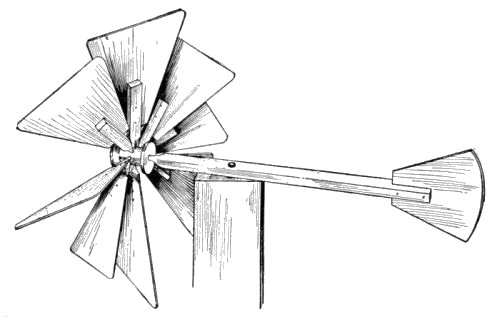 the project gutenberg ebook of home made toys for boys and girls by 66 Punch Block Diagram an eight blade windmill