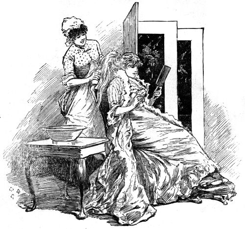 The project gutenberg ebook of our little ones and the nursery vol maid brushing out womans hair fandeluxe Images