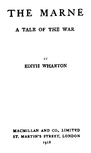 The project gutenberg ebook of the marne by edith wharton the marne fandeluxe Images