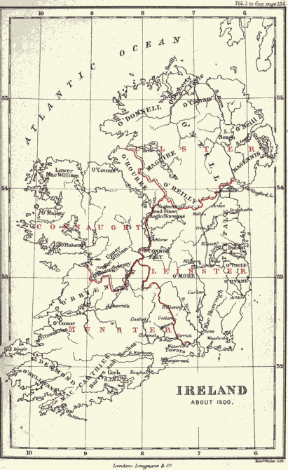 The Project Gutenberg eBook of Ireland Under the Tudors, by