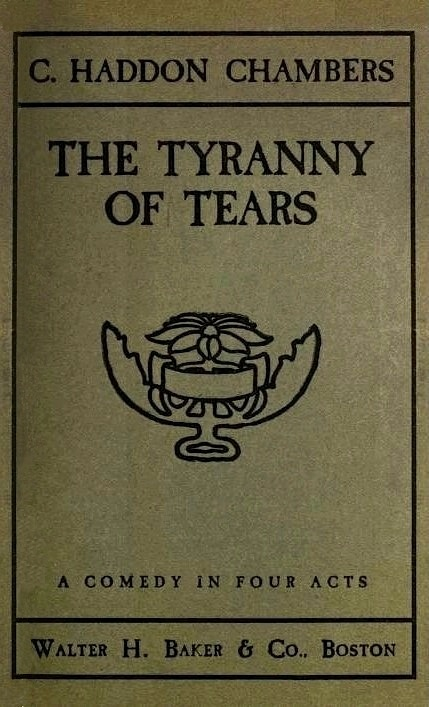 The tyranny of tears by c haddon chambers cover fandeluxe Gallery