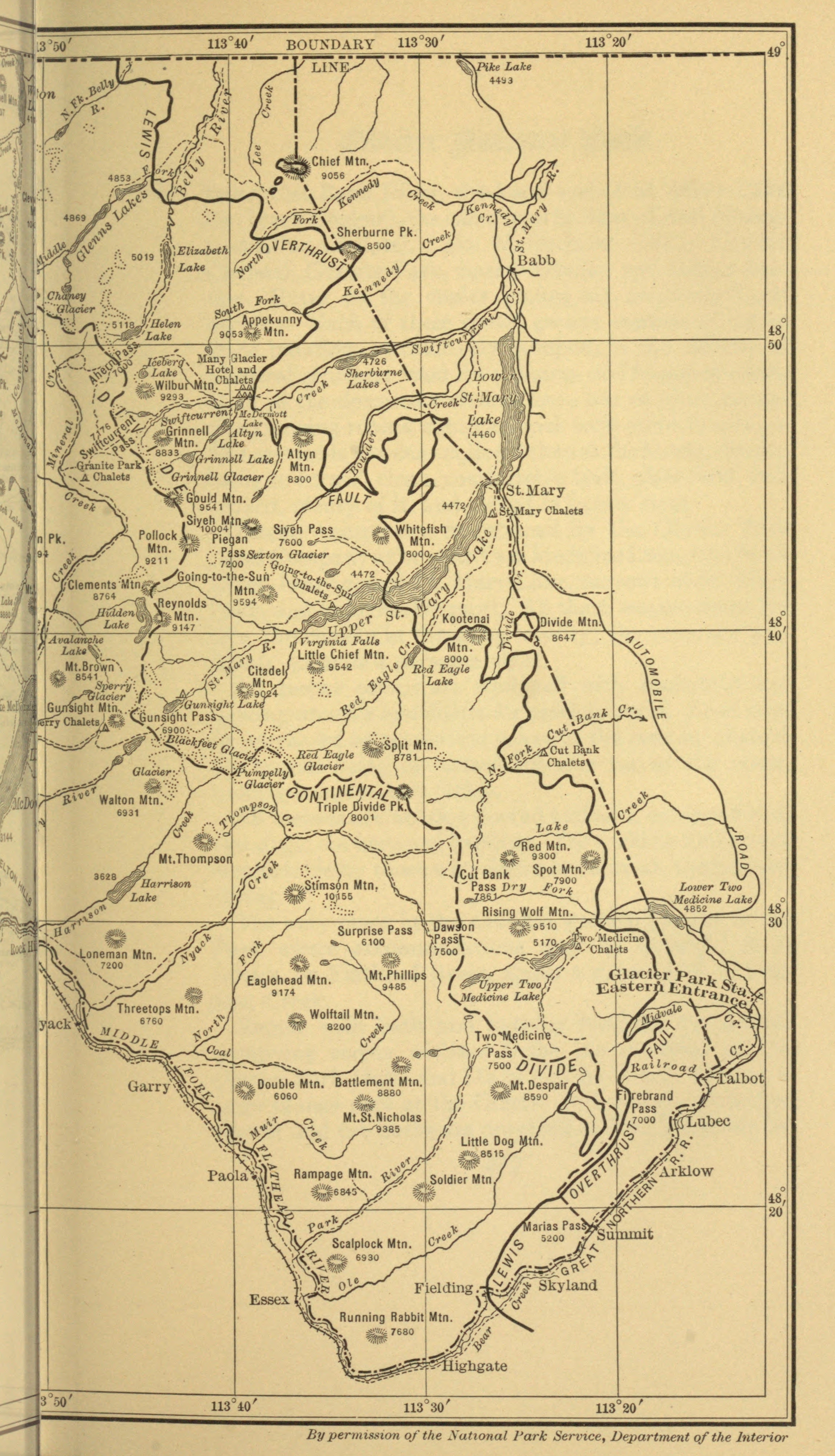 The Project Gutenberg eBook of Your National Parks, by Enos A. Mills.