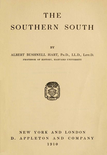The Project Gutenberg eBook of The Southern South 523d4e8ee8b