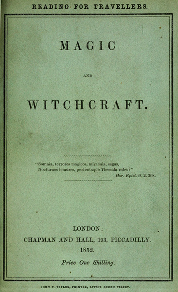 Magic and witchcrafta project gutenberg ebook magic and witchcraft fandeluxe Gallery