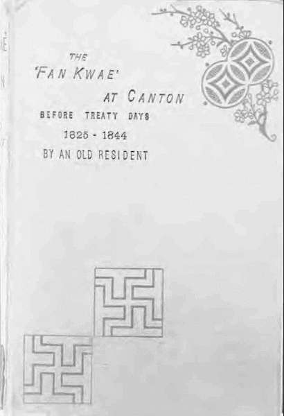 The Project Gutenberg Ebook Of The Fan Kwae At Canton By William