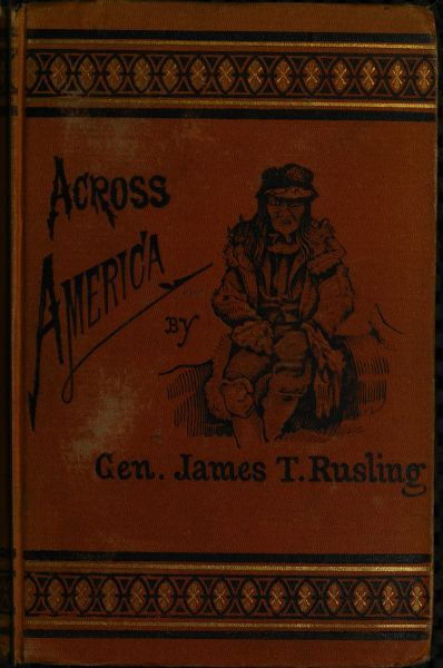 Across america by james f rusling a project gutenberg ebook book cover fandeluxe Image collections