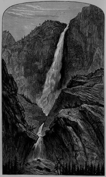 Across america by james f rusling a project gutenberg ebook yosemite falls fandeluxe Image collections