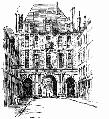 The Project Gutenberg eBook of Historic Paris, by Jetta S