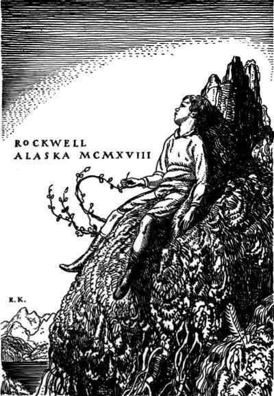The project gutenberg ebook of wilderness a journal of quiet rockwell alaska mcmxviii fandeluxe Choice Image
