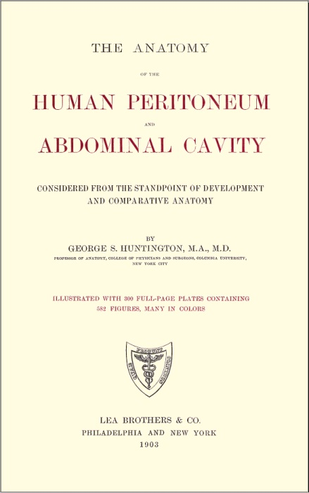 The Project Gutenberg Ebook Of The Anatomy Of The Human Peritoneum