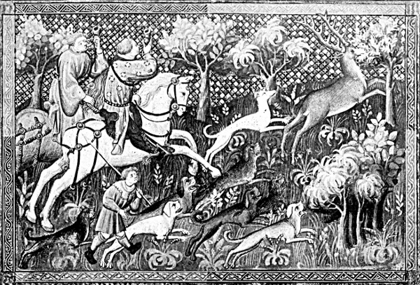 Collier de fourrure de chasse Elk Deer Horn Reindeer Statement Pendant