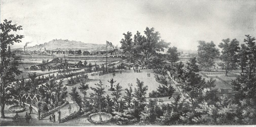 pleasurable ix home and garden show.  Cremorne and the Later London Gardens by Warwick Wroth