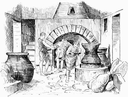 A Roman bakery