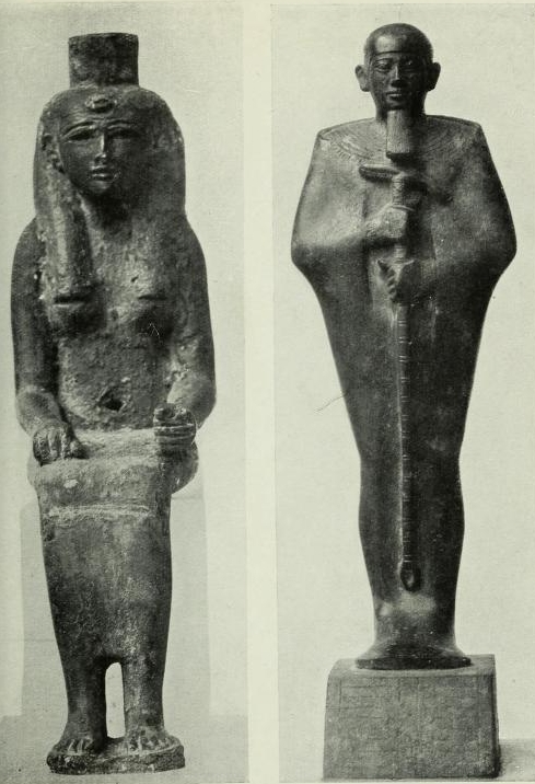 In the Presence of the Gods Statues of Mortals in Egyptian Temples by Ben Tor