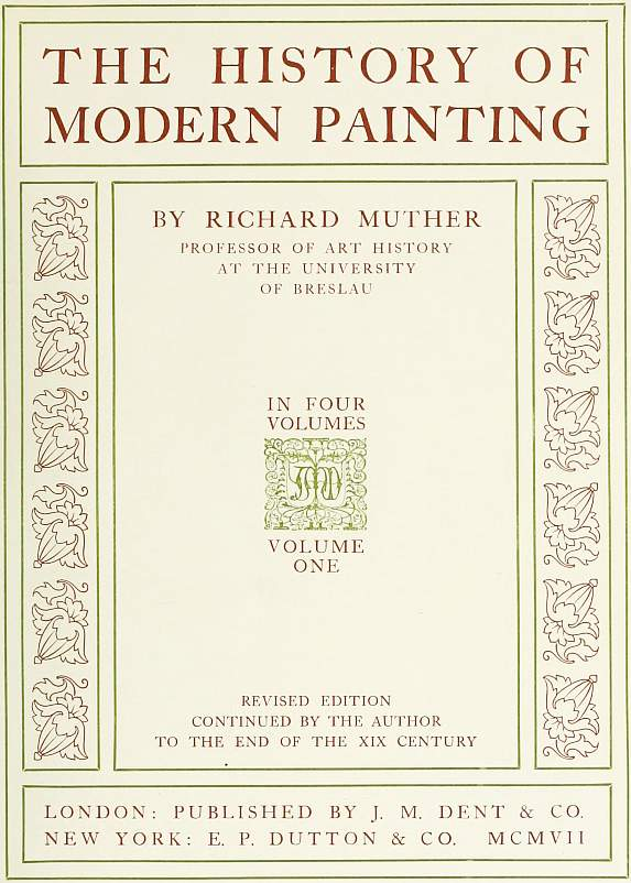 The project gutenberg ebook of the history of modern painting volume anton graff portrait of the artist fandeluxe Gallery