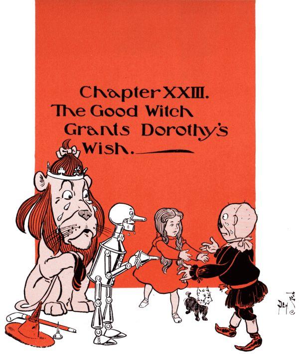 Chapter XXIII