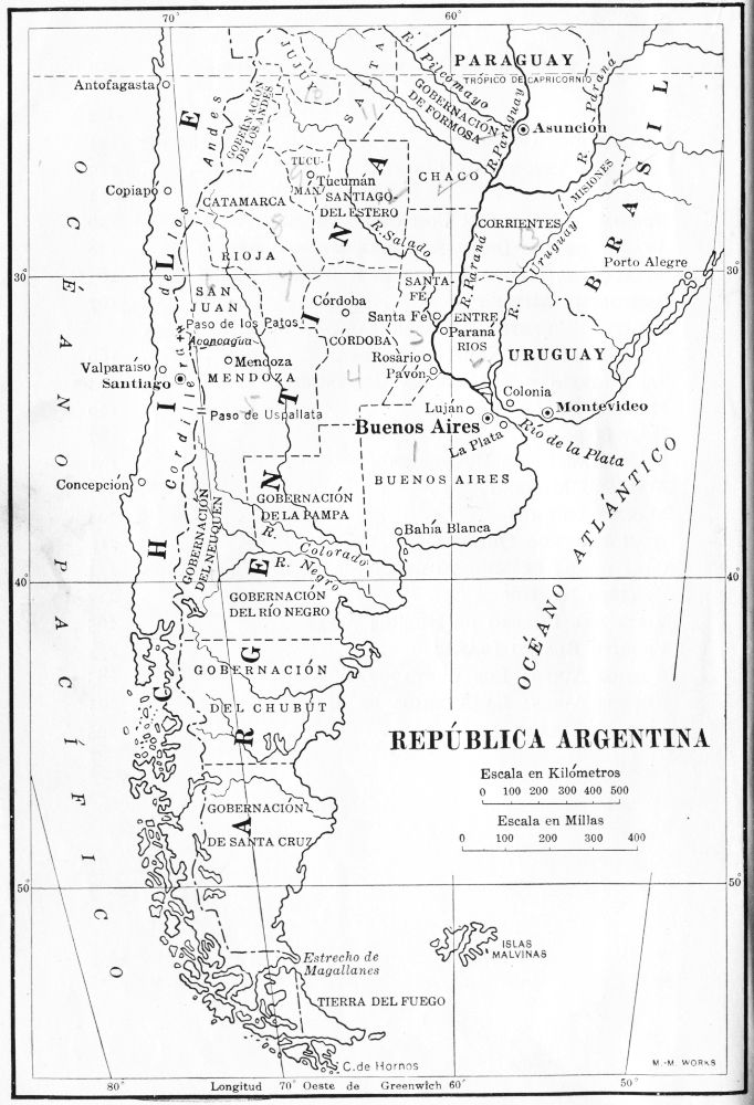The Project Gutenberg Ebook Of Argentina Legend And History Edited